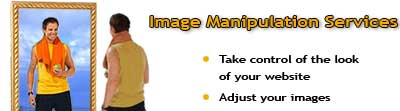 Image manipulation services and training